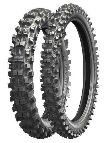 Michelin 80/100 - 21  STARCROSS 5 MEDIUM  [51 M]  F  TT
